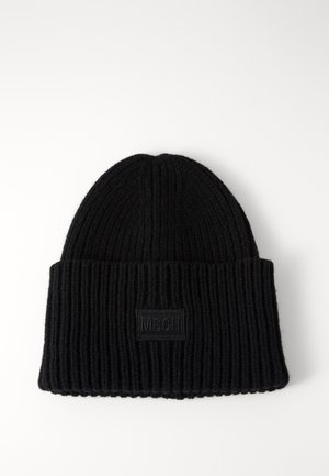 KARA BADGE - Beanie - black