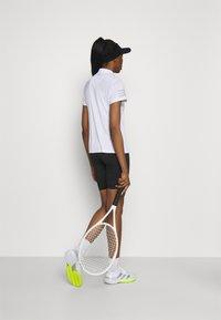 adidas Performance - CLUB  - Korte broeken - black/white - 2