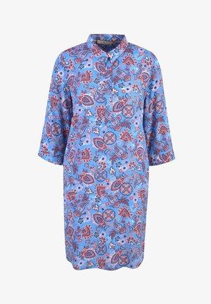 Shirt dress - ocean print