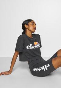 Ellesse - ALBERTA - T-shirts print - dark grey marl - 3