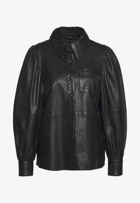 Ibana - TALIA - Button-down blouse - black - 0