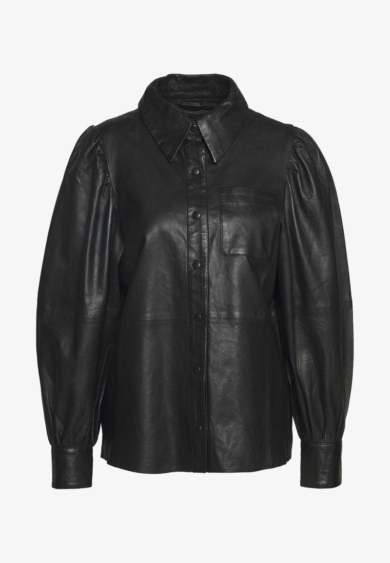 Ibana - TALIA - Button-down blouse - black