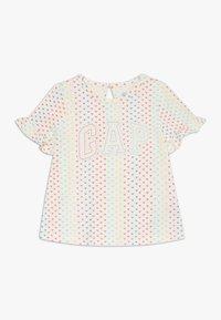 GAP - T-shirt print - ivory frost - 0