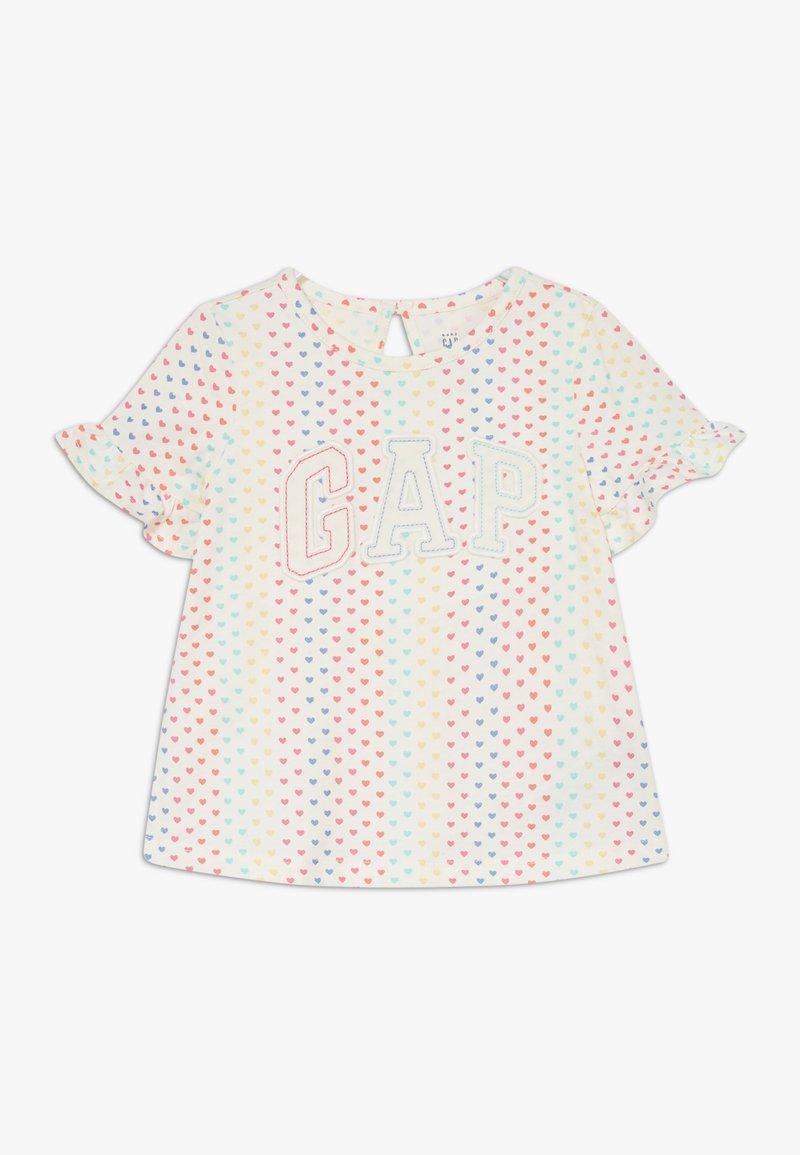 GAP - T-shirt print - ivory frost