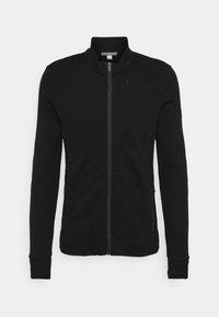 Icebreaker - AWAY ZIP - Sweater met rits - black - 0