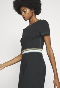edc by Esprit - RAINBOW - Jersey dress - black - 4