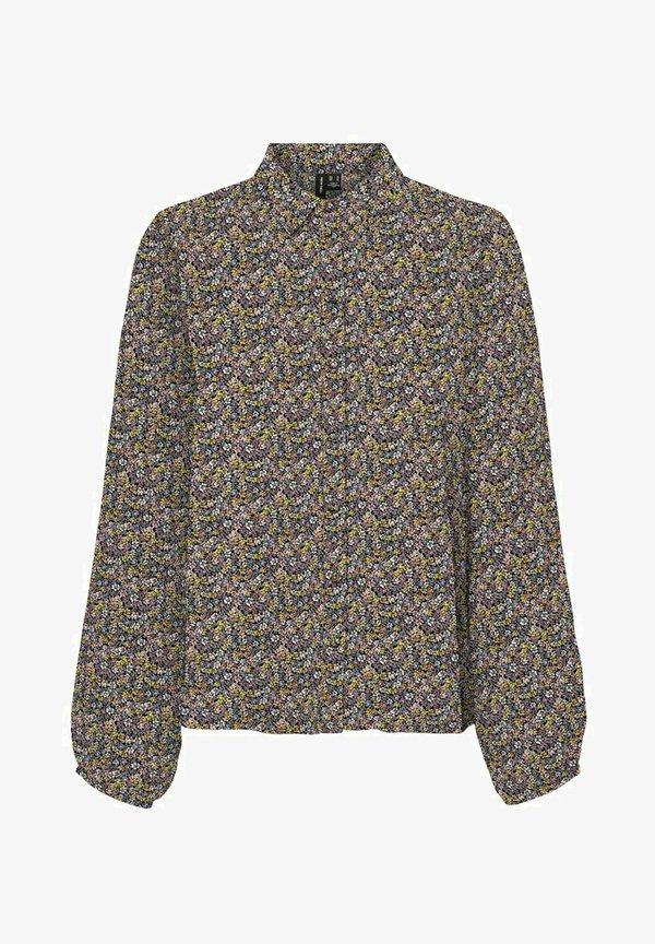 Vero Moda Koszula - black/czarny YZAL
