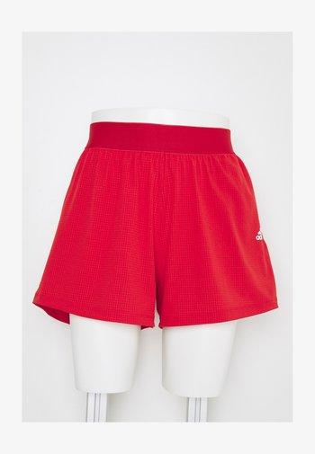 H.RDY SHORT - Pantalón corto de deporte - vivid red