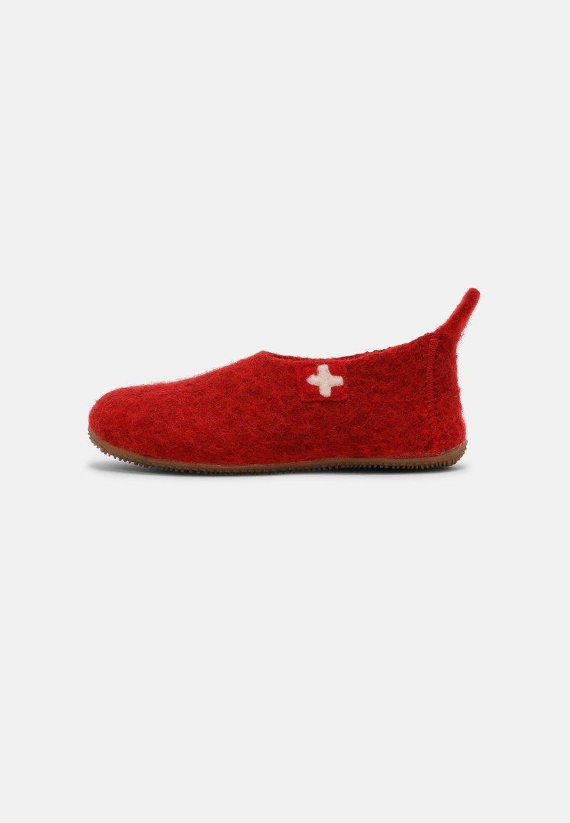 Living Kitzbühel - SCHWEIZER KREUZ UNISEX - Pantoffels - rot