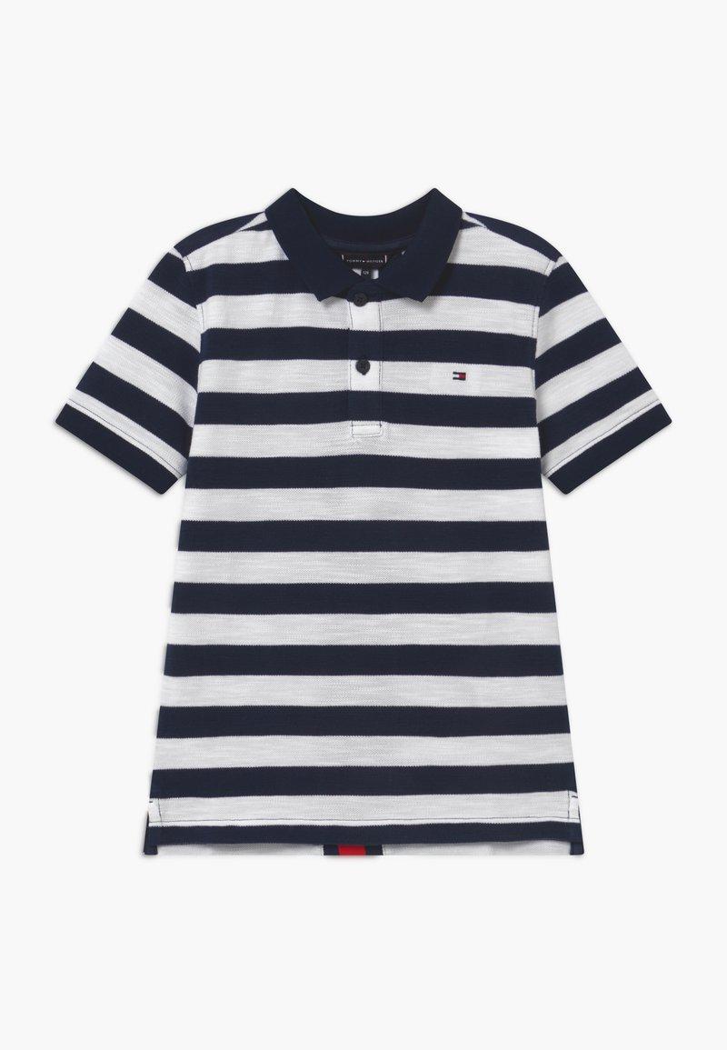 Tommy Hilfiger - BACK INSERT - Polo shirt - blue
