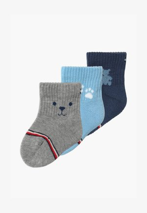 BABY NEWBORN GIFTBOX 3 PACK - Chaussettes - blue