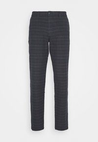 DOCKERS - SMART FLEX TAPERED - Trousers - christman dockers navy - 0