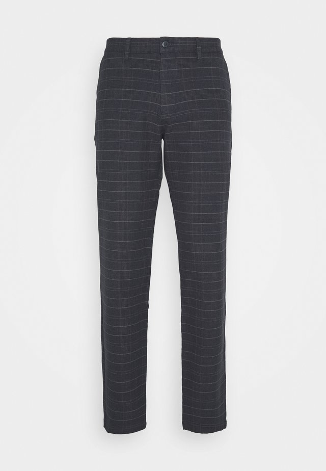 SMART FLEX TAPERED - Pantalon classique - christman dockers navy