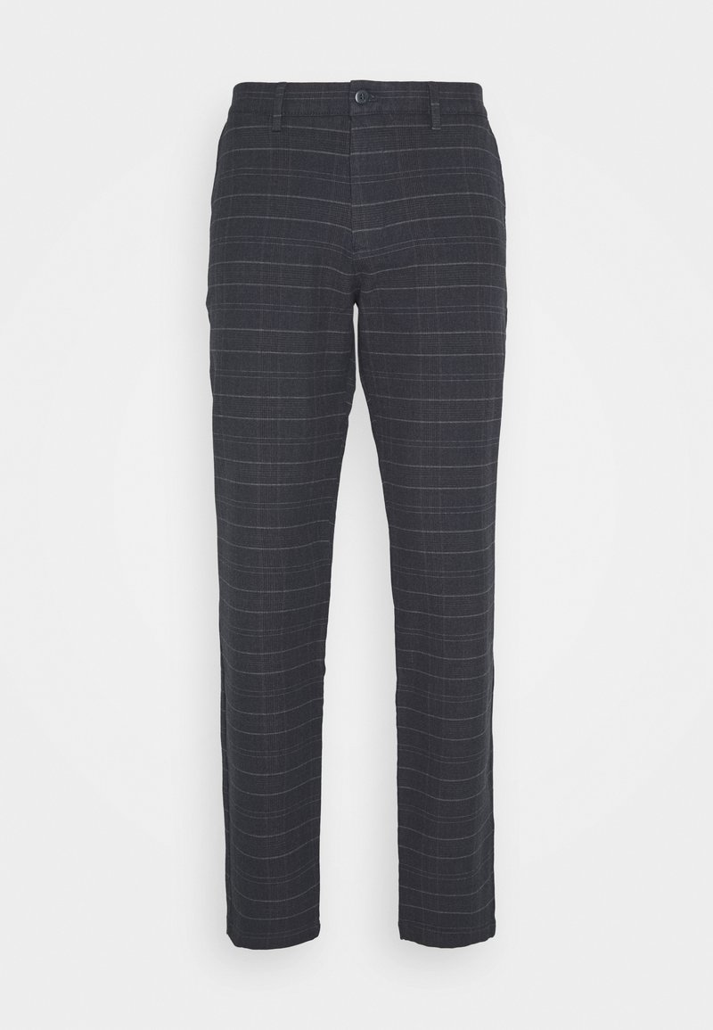 DOCKERS - SMART FLEX TAPERED - Trousers - christman dockers navy