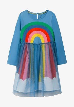Day dress - elisabethanisches blau, regenbogen