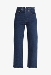 RIBCAGE STRAIGHT ANKLE - Straight leg jeans - blue denim