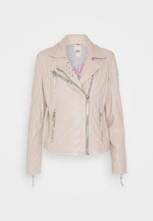 SUMMER - Leather jacket - pale rose