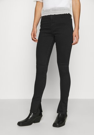GOOD WAIST LONG - Jeans Skinny Fit - black