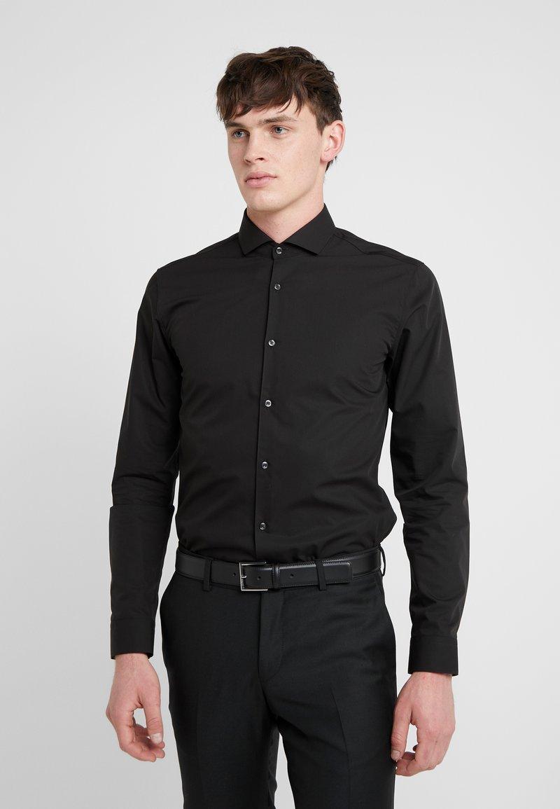 HUGO - ERRIKO EXTRA SLIM FIT - Formal shirt - black