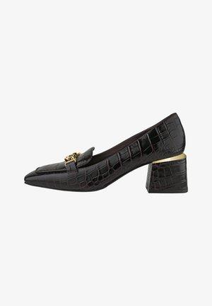 OLIVIA - Classic heels - dark brown