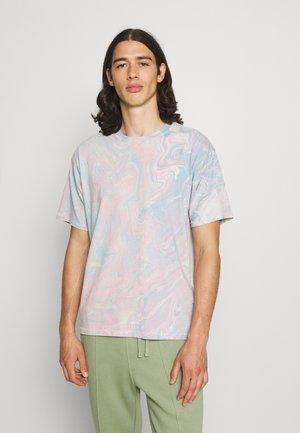 TAB VINTAGE TEE UNISEX - T-shirt - bas - calypso coral