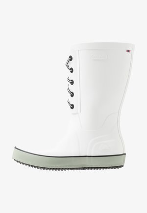 RETRO LOGG - Wellies - white