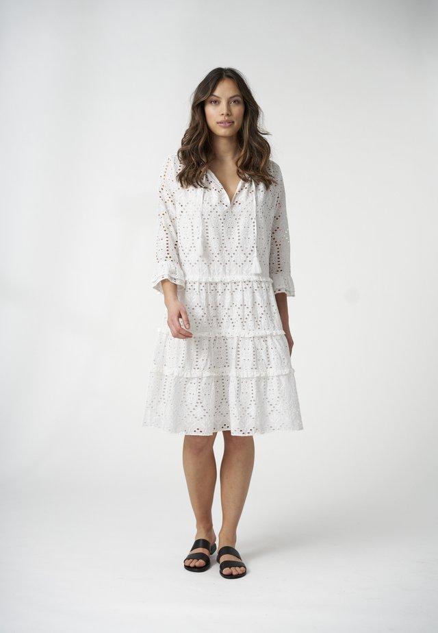 VILDA  - Day dress - white