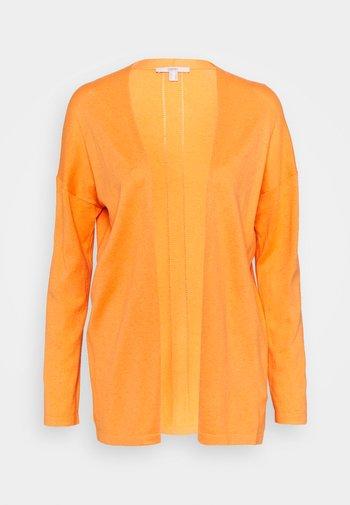 Cardigan - golden orange