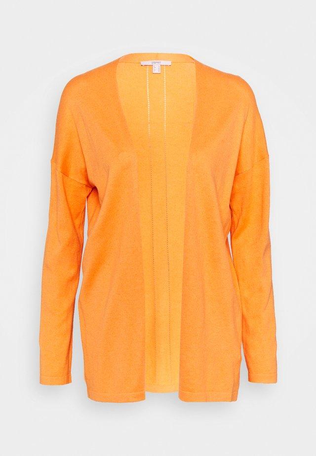Kardigan - golden orange