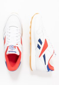 Reebok Classic - CL MARK - Sneakers laag - white/radiant red/collegiate navy - 1