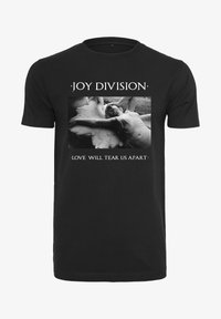 Mister Tee - HERREN JOY DIVISION TEAR US APART - Print T-shirt - black - 4