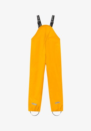 MUDDY UNISEX - Rain trousers - yellow