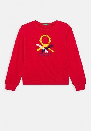 FUNZIONE GIRL - Sweatshirt - RED