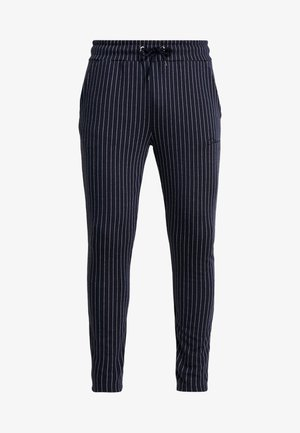 PIN STRIPE - Trainingsbroek - navy