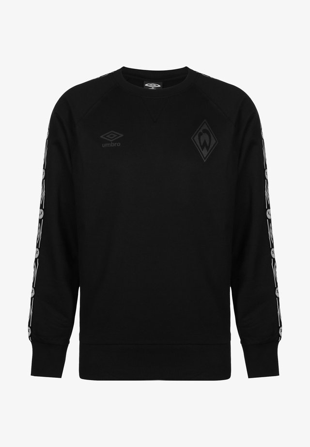 SV WERDER BREMEN TAPED - Bluza - black