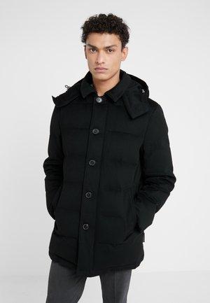 AUCHAVAN  - Kabát zprachového peří - black