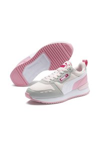 Puma - Baskets basses - rosewater/gray /white - 3