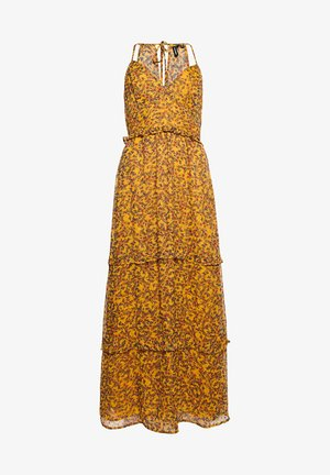 MARGAUX - Vestito lungo - autumn ditsy gold