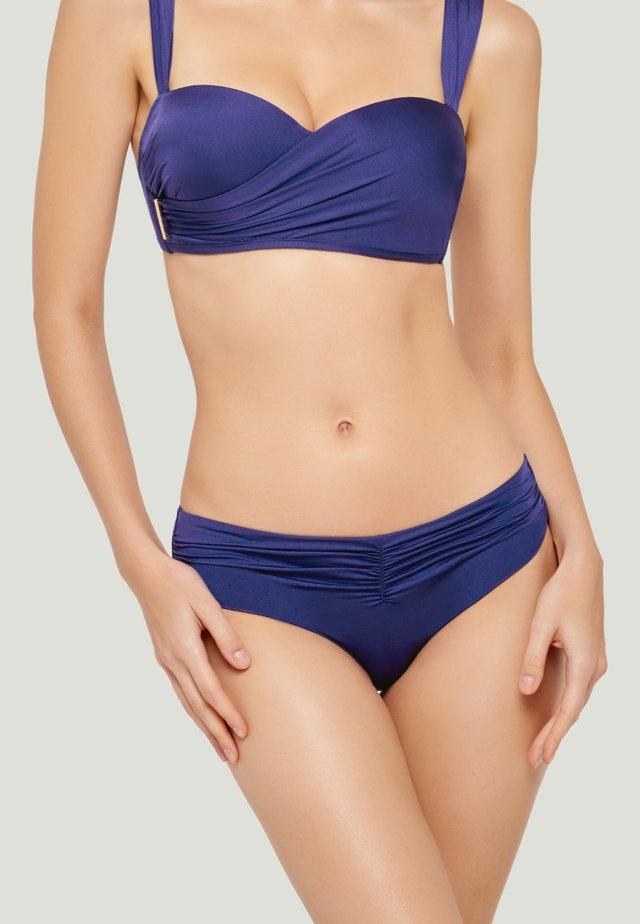 SOLID BIKINI BOTTOM - Bikinibroekje - blue