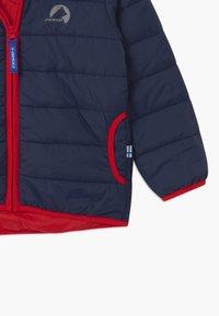 Finkid - VANUKAS UNISEX - Winter jacket - navy/red - 4