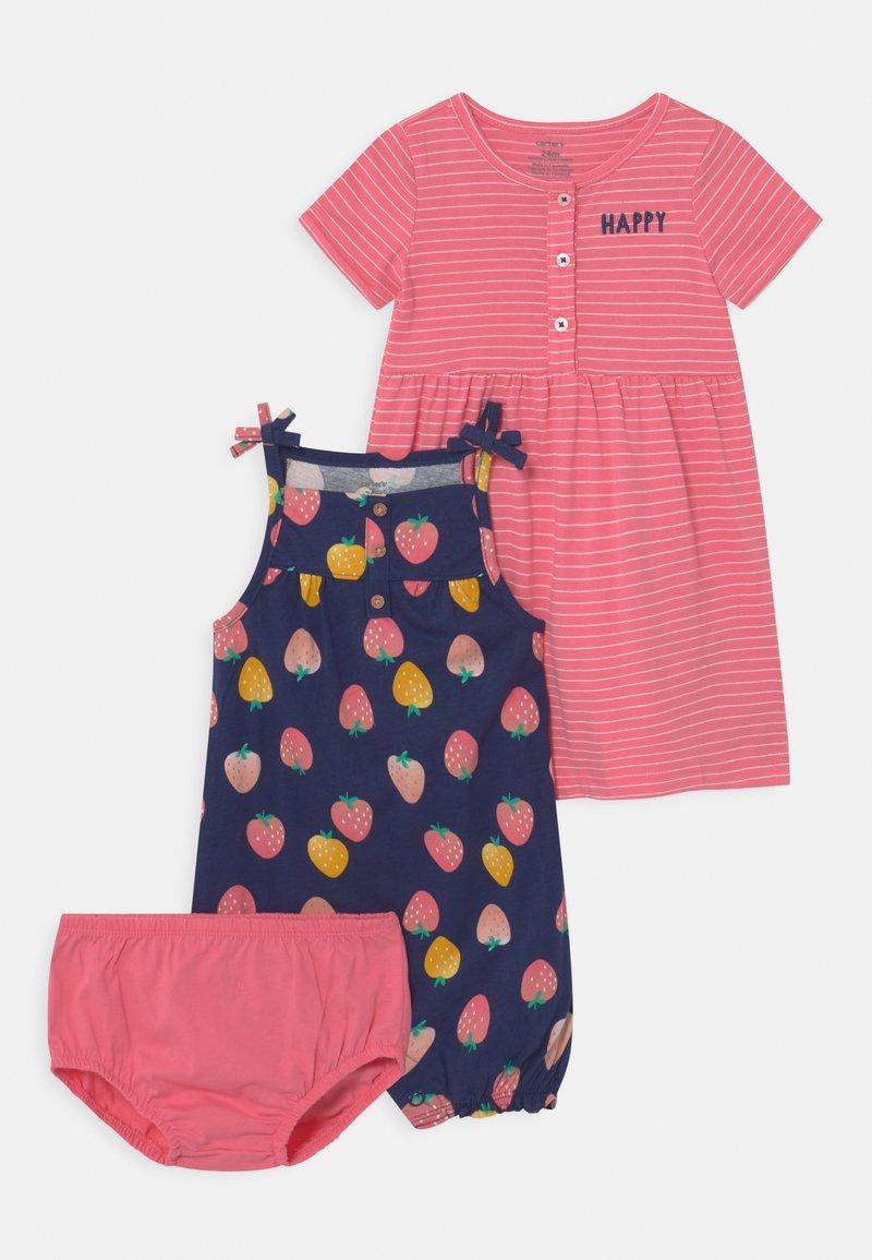Carter's - STRAWBERRY SET - Jumpsuit - pink/multi-coloured