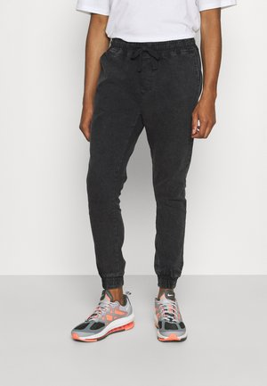 IOWA - Jeans slim fit - dark grey acid wash