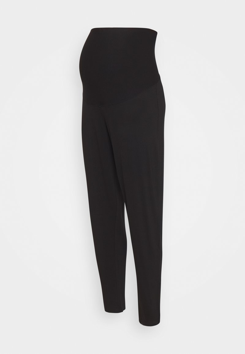 Lindex - TROUSERS MOM JASMINE - Tracksuit bottoms - black