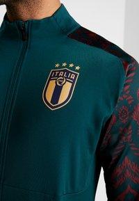Puma - ITALIEN FIGC STADIUM THIRD JACKET - Træningsjakker - ponderosa pine/cordovan - 4