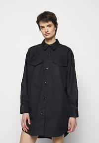 DESIGNERS REMIX - BILLY DRESS - Shirt dress - black - 0