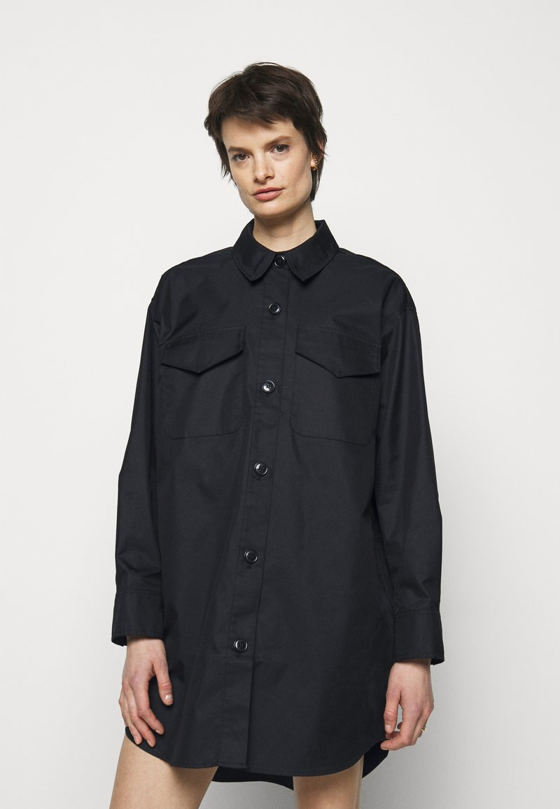 DESIGNERS REMIX - BILLY DRESS - Shirt dress - black