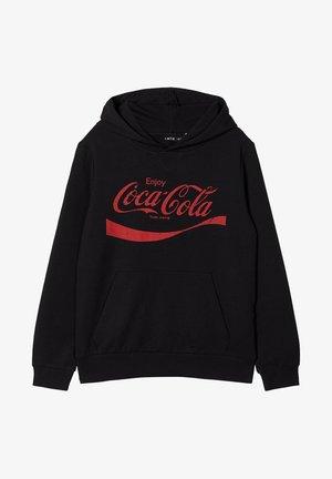 COCA COLA - Hættetrøjer - black