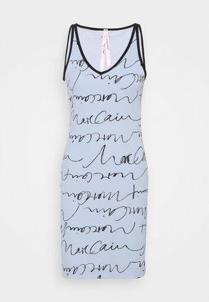 Sukienka z dżerseju - water