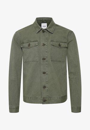 Denim jacket - ivy green