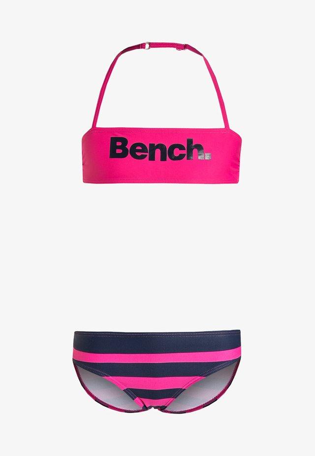 Bikini - pink/navy